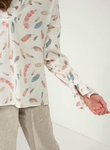 Desenli Gömlek-People By Fabrika